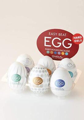 Мастурбаторы Tenga Eggs Hard Boiled в ассортименте