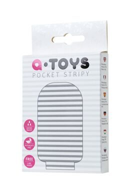 Мастурбатор A-Toys Pocket Stripy